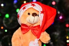 Cappello di Santa dell'orso Immagini Stock