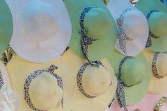 Cappello di signora Fotografie Stock