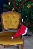 Cappello dimenticato dal Babbo Natale Immagine Stock Libera da Diritti