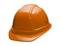 Cappello duro arancione Immagini Stock