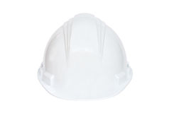 Cappello duro bianco Fotografie Stock