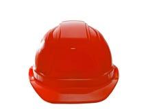 Cappello duro rosso Fotografia Stock Libera da Diritti