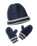 Cappello e guanti Immagini Stock