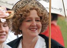Cappello e parasole operati Fotografie Stock Libere da Diritti