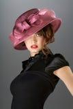 Cappello e vestito. immagini stock