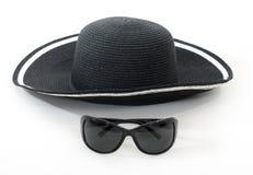 Cappello e vetri Fotografie Stock Libere da Diritti
