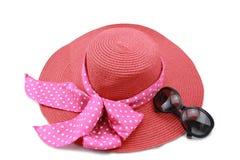 Cappello ed occhiali da sole Fotografie Stock