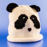 Cappello fatto a mano della lana Fotografia Stock Libera da Diritti