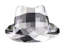 Cappello grigio Fotografie Stock Libere da Diritti