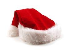 Cappello il Babbo Natale Immagini Stock Libere da Diritti