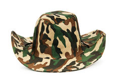 Cappello isolato sul bianco Fotografia Stock Libera da Diritti