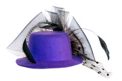 Cappello lilla Immagini Stock Libere da Diritti