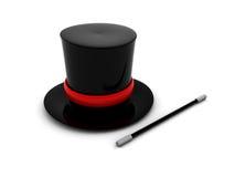 Cappello magico illustrazione di stock