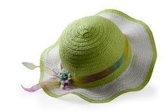Cappello marrone alla moda Fotografie Stock