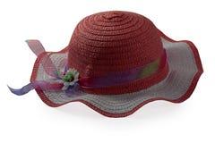 Cappello marrone alla moda Immagine Stock Libera da Diritti