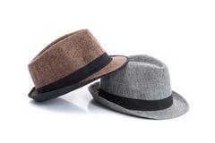 Cappello marrone alla moda Fotografia Stock