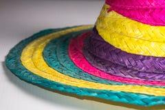 Cappello messicano tradizionale con i colori fotografia stock