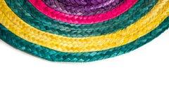 Cappello messicano tradizionale con i colori immagini stock libere da diritti