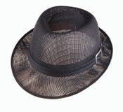 Cappello nero Fotografia Stock