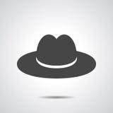 Cappello nero Fotografia Stock Libera da Diritti