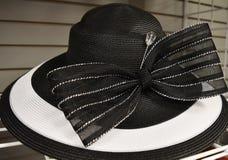 Cappello operato per il giorno di derby fotografia stock libera da diritti