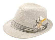 Cappello per gli uomini Fotografia Stock Libera da Diritti