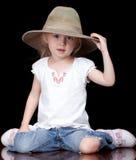 Cappello piacevole Fotografie Stock Libere da Diritti