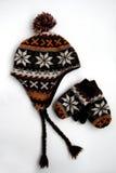Cappello, protezione e guanti Immagini Stock