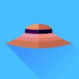 Cappello rosa Fotografie Stock