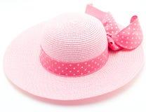 Cappello rosa fotografie stock libere da diritti