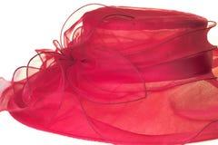 Cappello rosso Immagini Stock Libere da Diritti