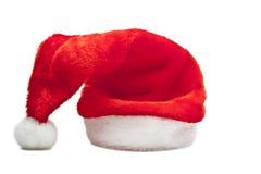 Cappello rosso della Santa isolato Fotografia Stock Libera da Diritti