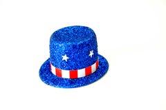 Cappello superiore patriottico Fotografia Stock Libera da Diritti