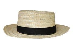 Cappello tailandese dell'agricoltore, isolato Fotografia Stock