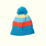 Cappello tricottato luminoso Fotografia Stock Libera da Diritti
