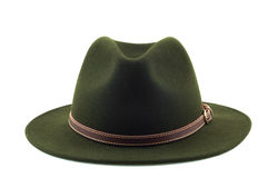 Cappello verde. Fotografia Stock