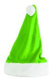 Cappello verde del Babbo Natale Fotografia Stock Libera da Diritti