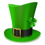 Cappello verde del Leprechaun Immagine Stock Libera da Diritti