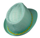 cappello verde smeraldo Fotografia Stock