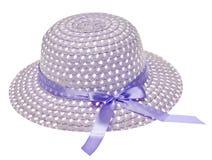 Cappello viola del cofano di Pasqua Fotografia Stock Libera da Diritti