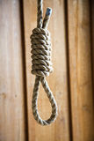 Cappio della corda Fotografie Stock
