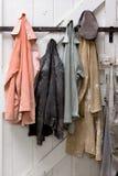 Cappotti dello scultore Fotografia Stock Libera da Diritti