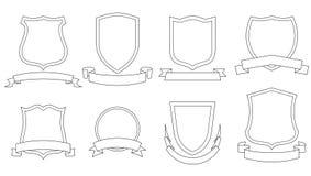 Cappotti di vettore delle braccia Fotografia Stock
