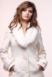 Cappotto bianco. fotografia stock libera da diritti