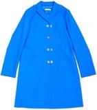 Cappotto blu Fotografia Stock Libera da Diritti