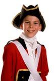 Cappotto britannico di colore rosso dell'esercito fotografia stock