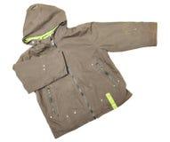 Cappotto con il cappuccio Fotografia Stock