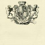 Cappotto dei leoni del whith delle braccia royalty illustrazione gratis