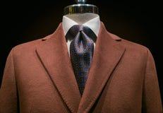 Cappotto del cachemire del Brown (orizzontale) Fotografia Stock Libera da Diritti