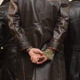 Cappotto del ciclomotore Immagini Stock